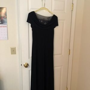Navy blue formal size 12 worn one time